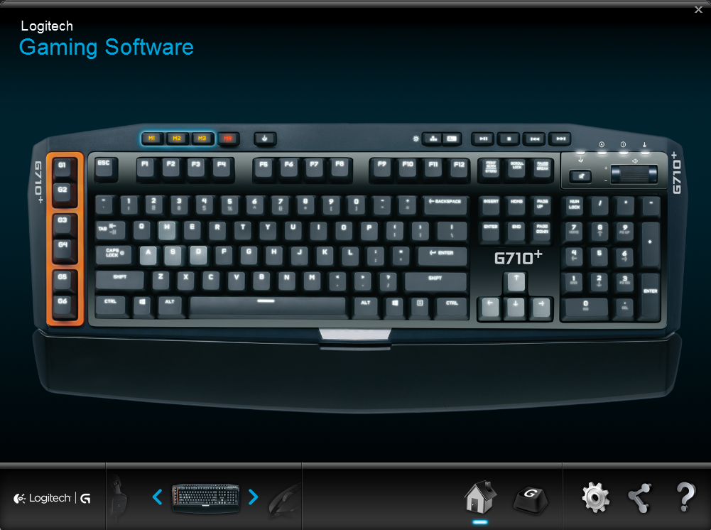 G710+ Software