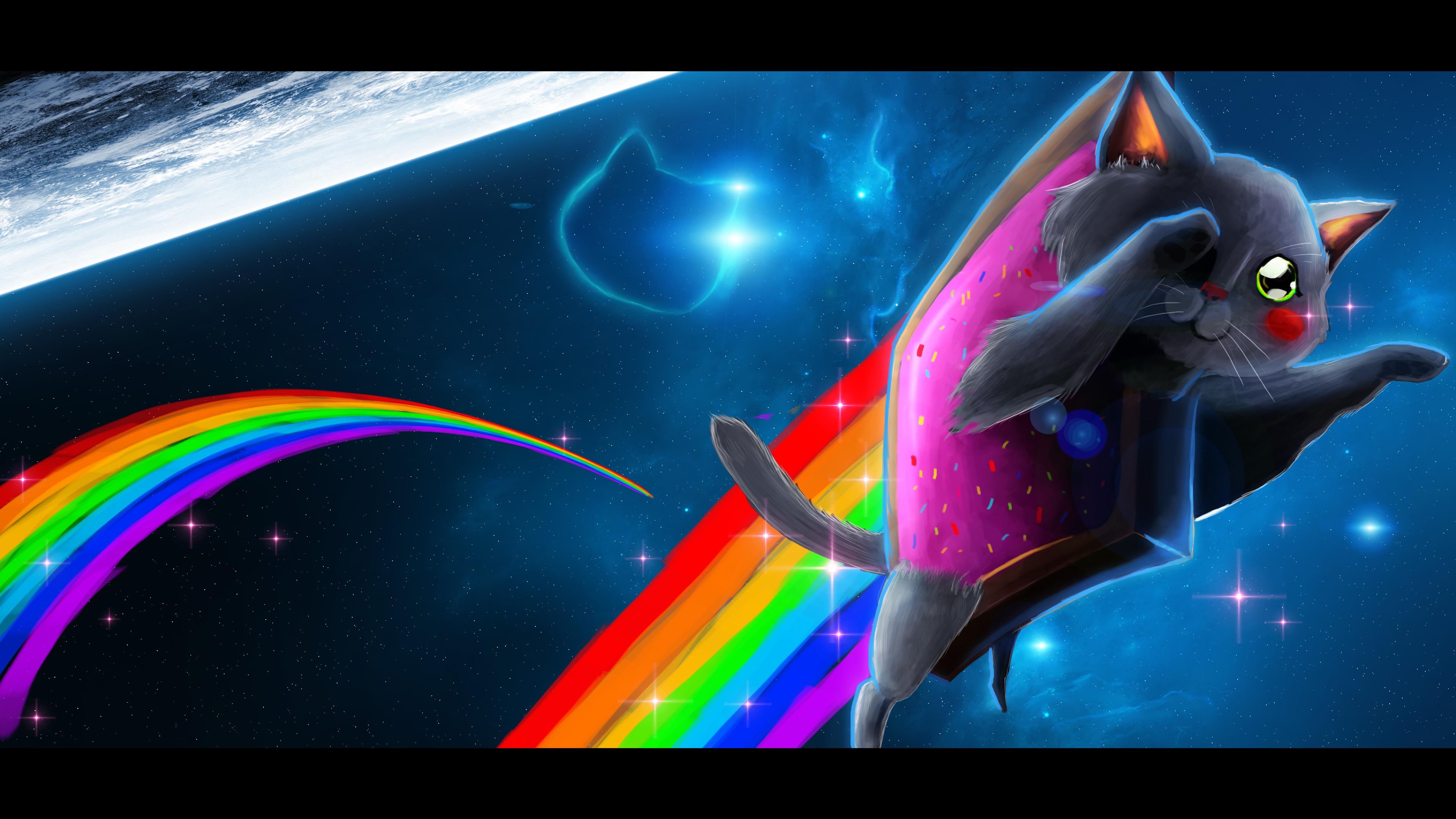 rainbow cat wallpapers - photo #40