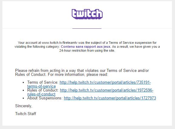 ban twitch mail