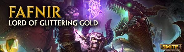 Fafnir lors of glittering gold